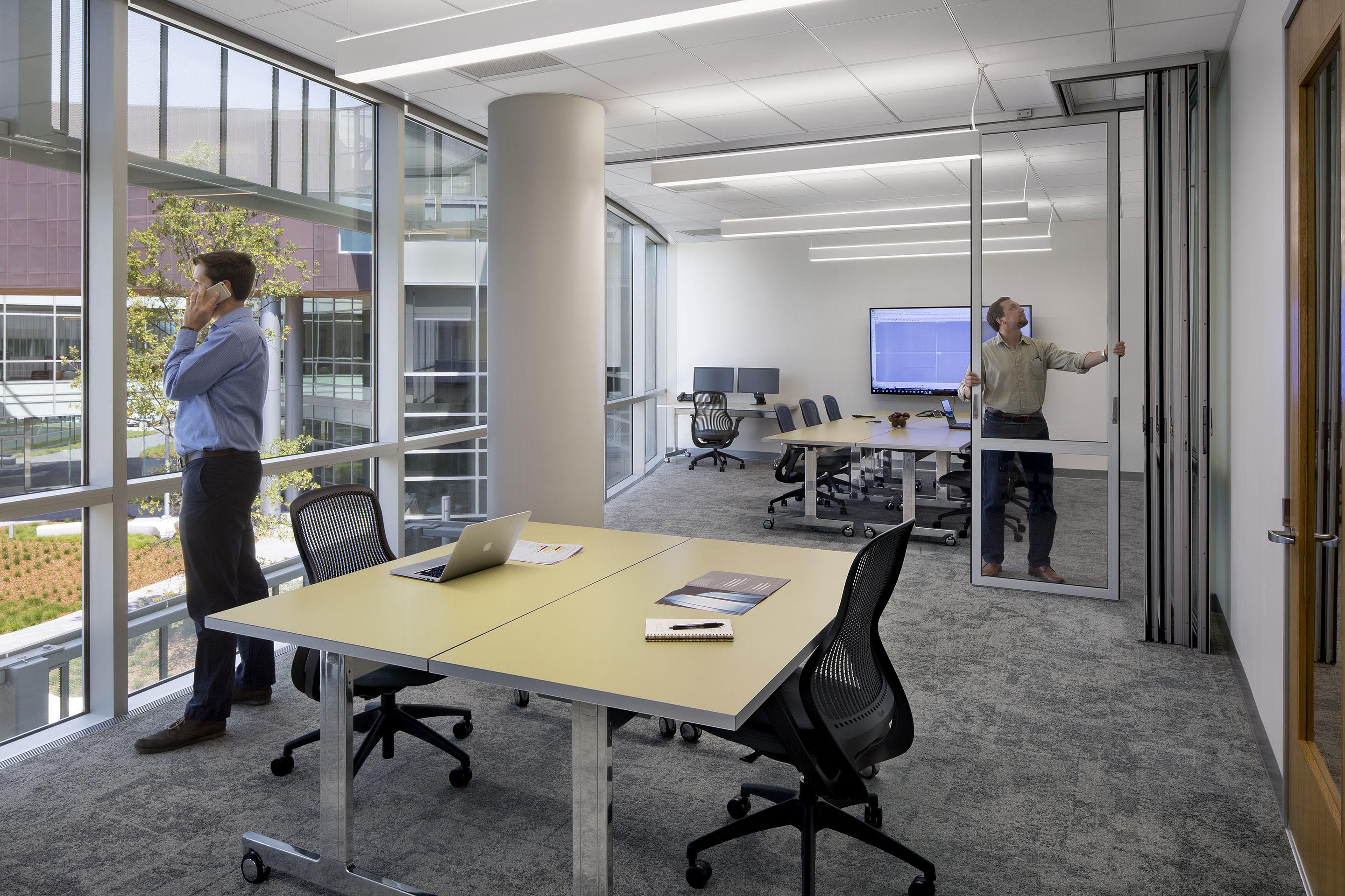 staying connected in office interiors