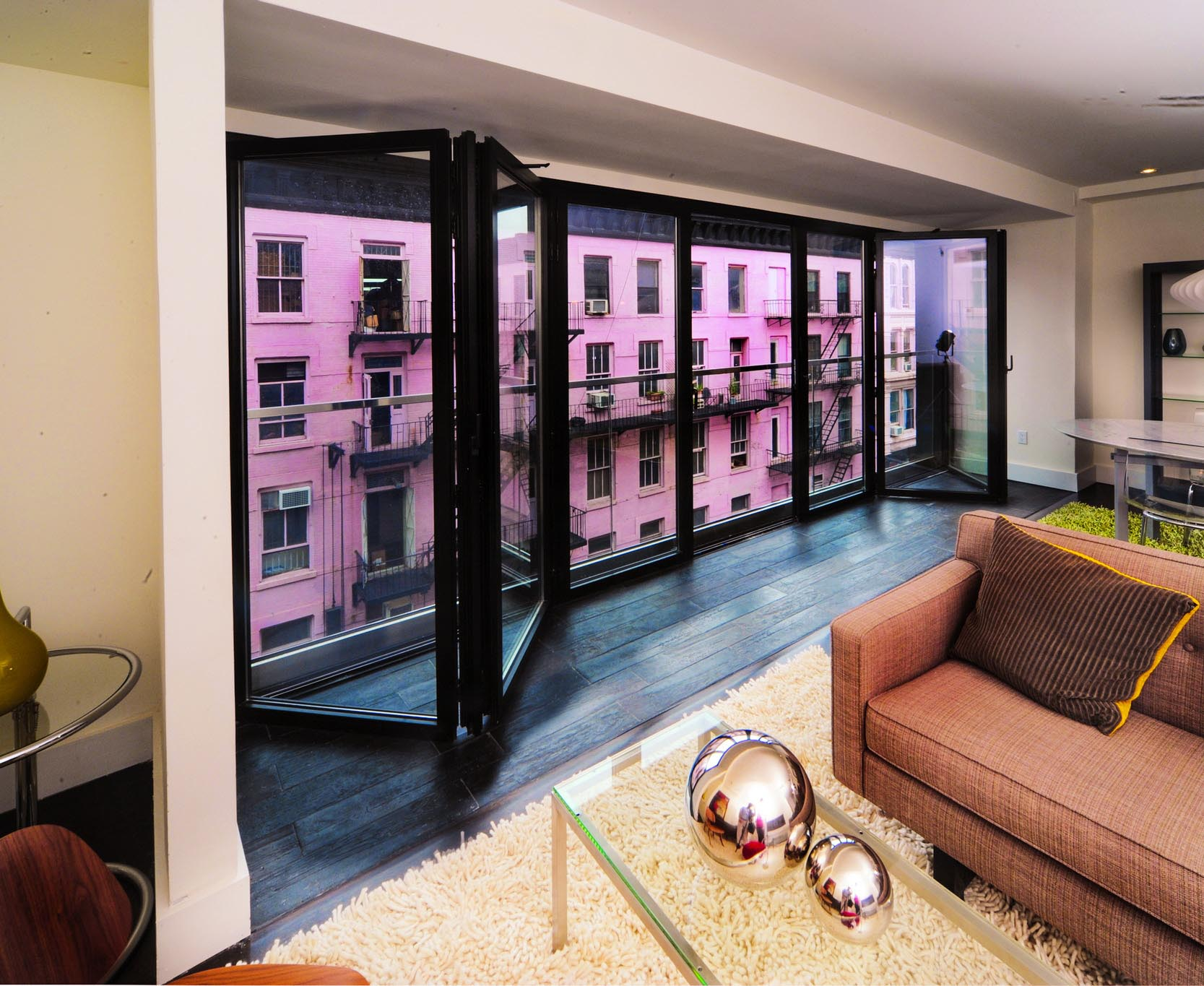 new york city midrise multifamily homes with balconies for property differentiation