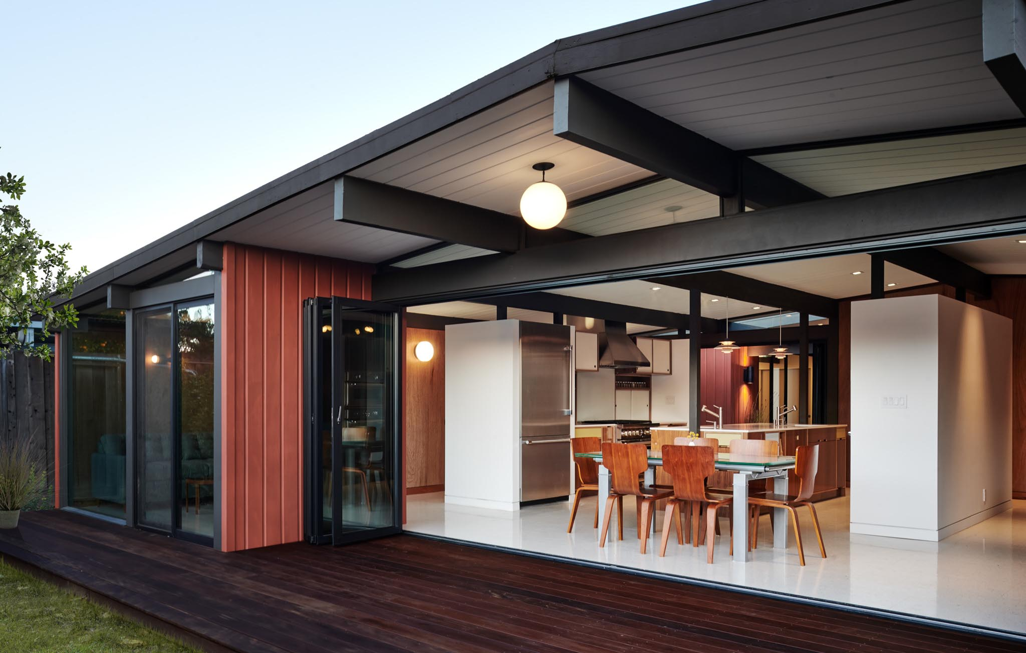 Morepark Eichler home remodeled to meet title 24