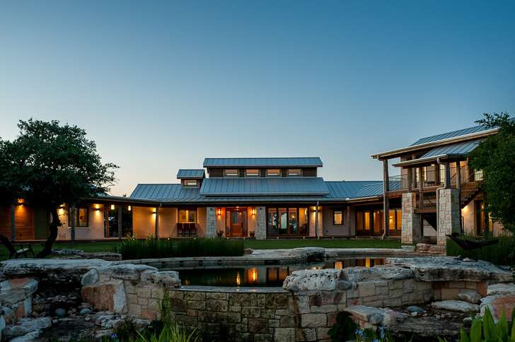 Austin\'s Cool House Tour Features Refined, Compressed-earth Block ...