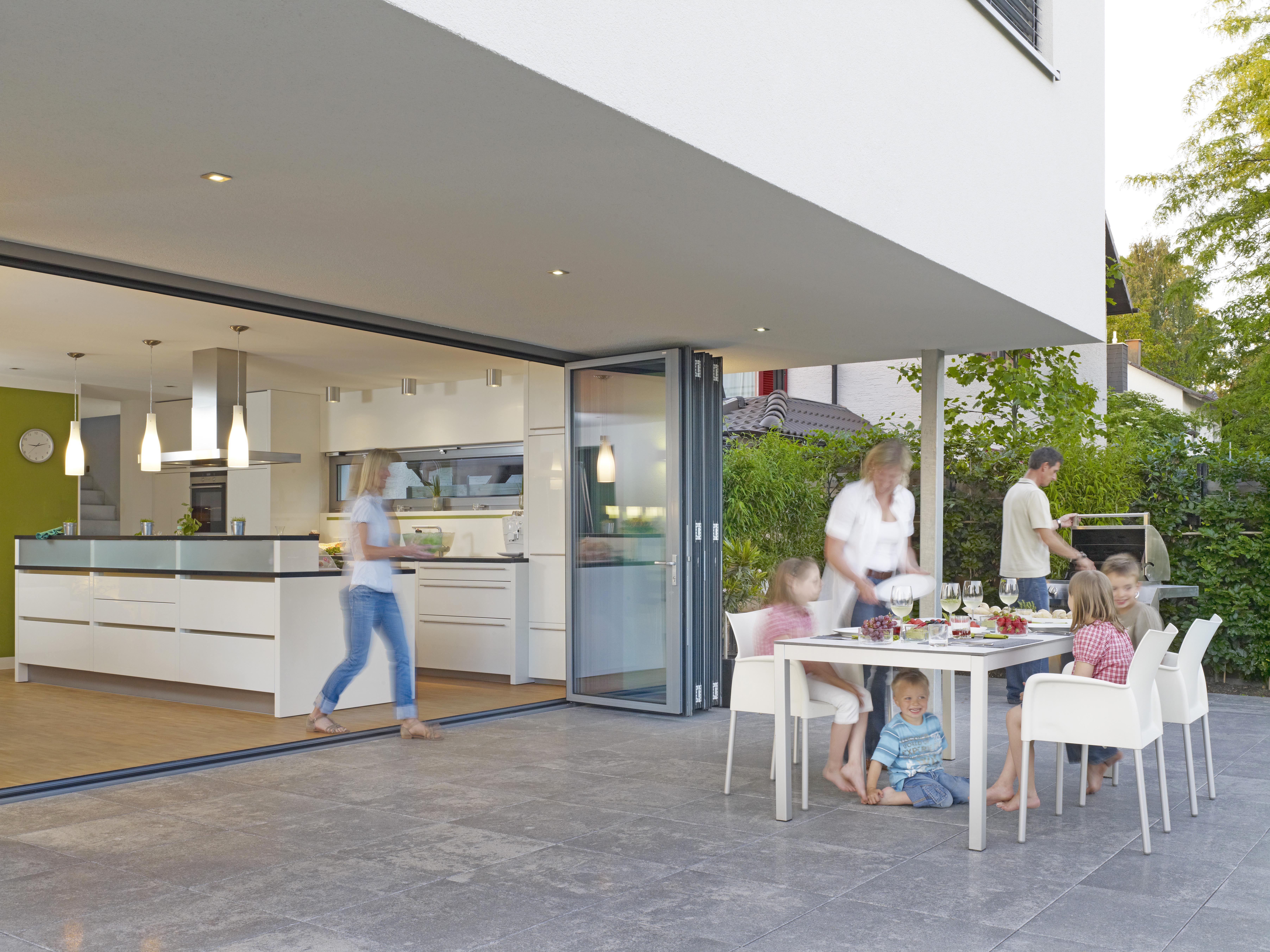 Folding glass doors patio - Bi Folding Glass Walls