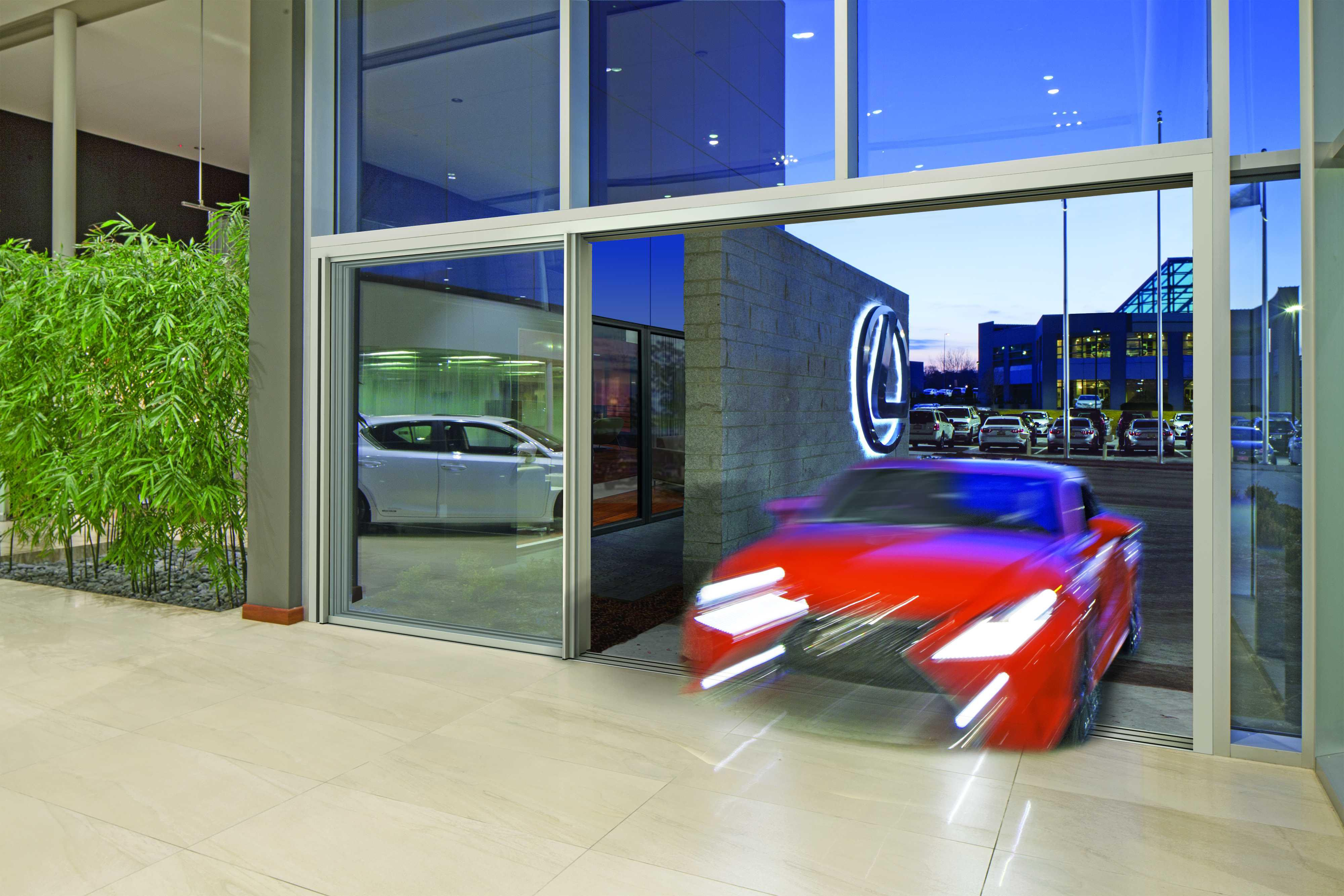 Accelerated Ambiance: Designing Luxe Dealerships | NanaWall