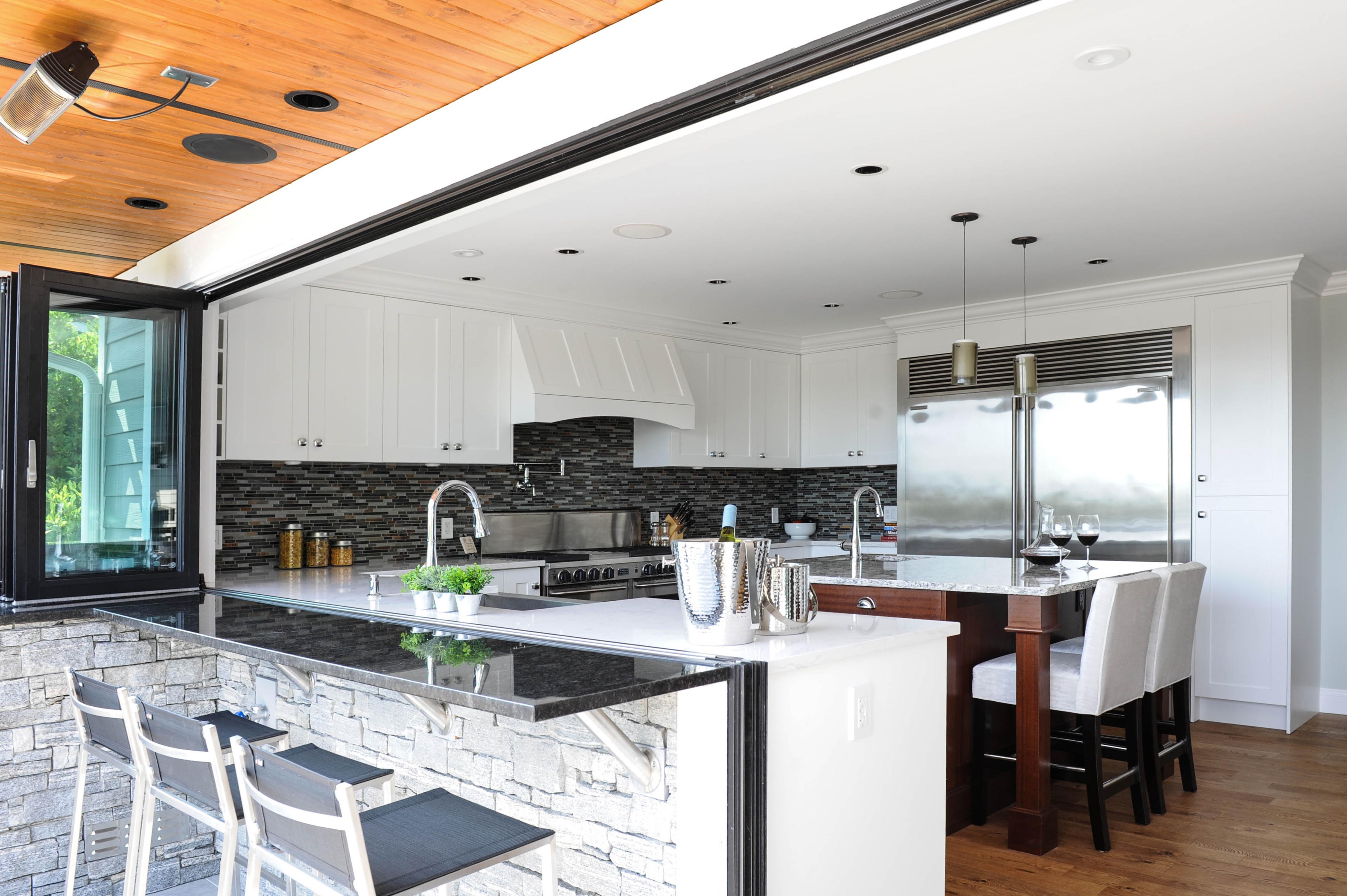 Create Your Dream Kitchen With Nanawall Kitchen Transition