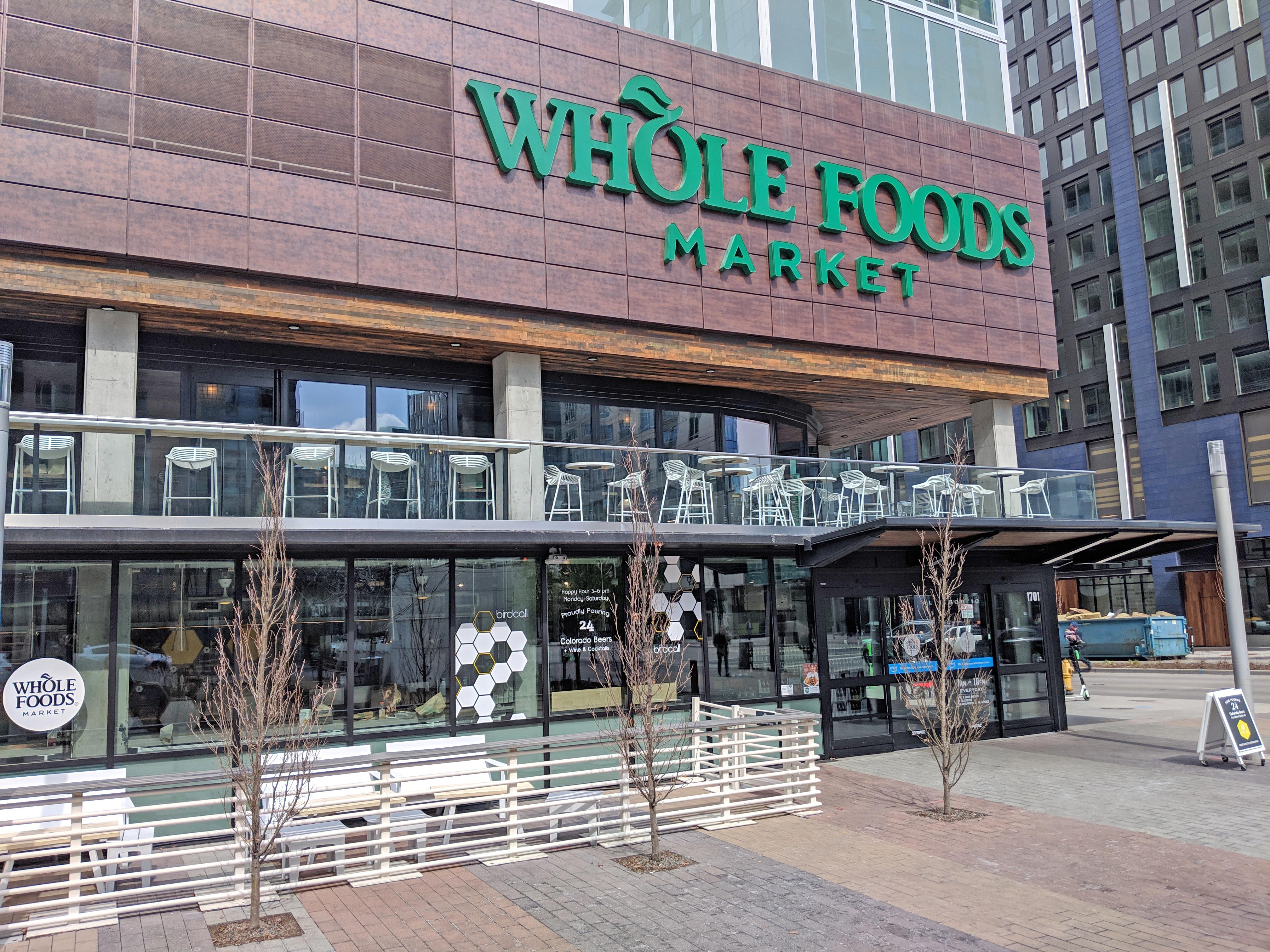 Whole Foods upper level with NanaWall HSW sliding glass walls