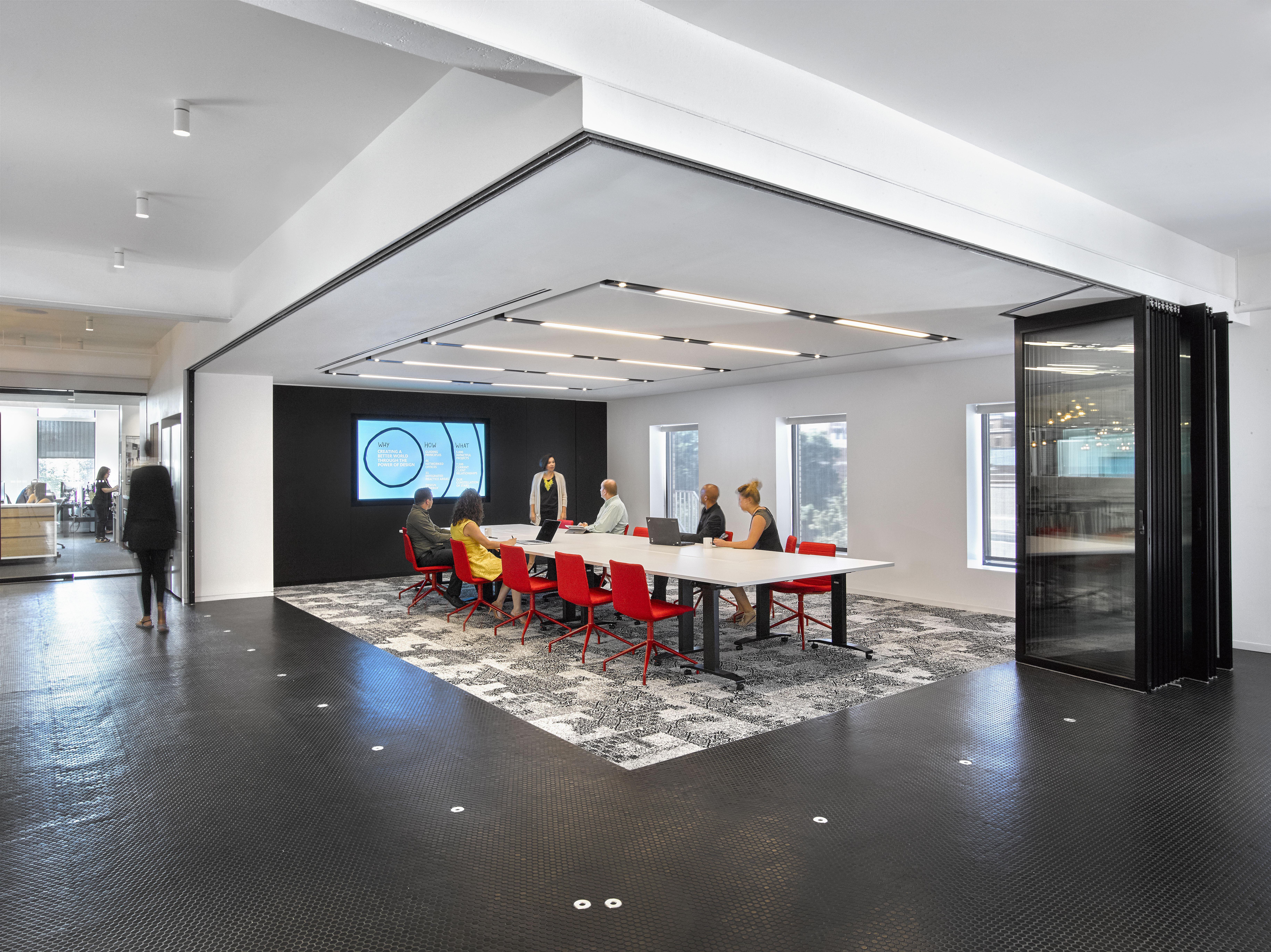 gensler revamps office using nanawall sliding glass walls - Sliding Glass Wall