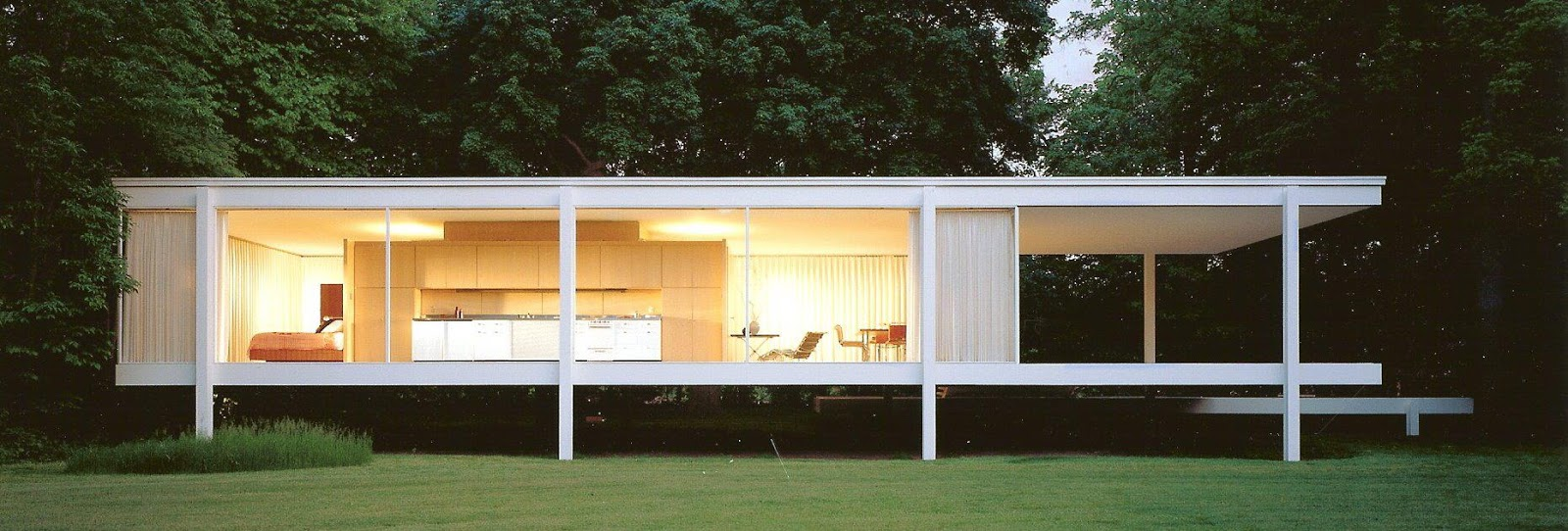 the marvelous masterpieces of ludwig mies van der rohe nanawall. Black Bedroom Furniture Sets. Home Design Ideas