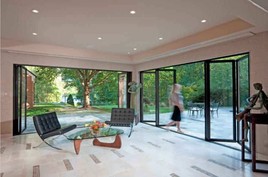 Five housing trends shaping 2017 window design nanawall for Nanawall plan
