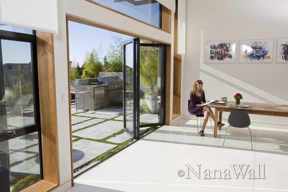 operable doors for passive solar