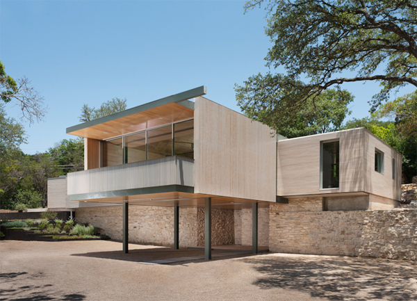 Austin Texas modern sustainable home
