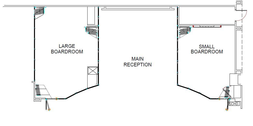 Flexible office floor plan for Amadeus Headquarters
