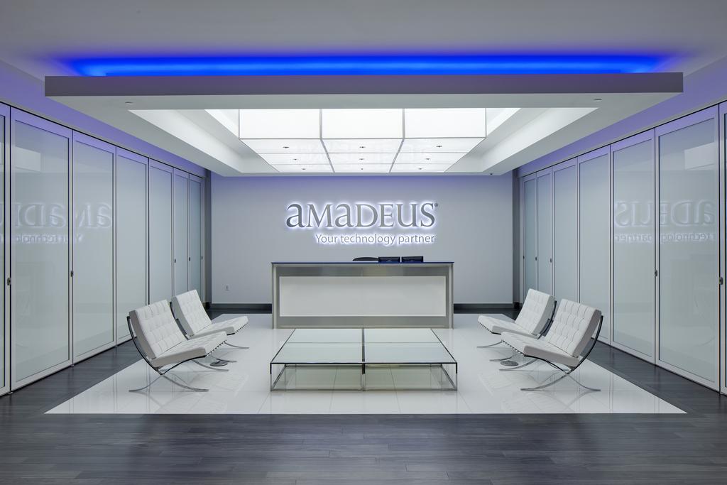 Amadeus Office Entrance Reception area