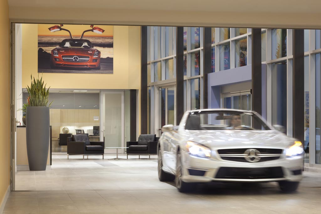 Glass doors are in garage doors are out nanawall for Mercedes benz in ontario ca