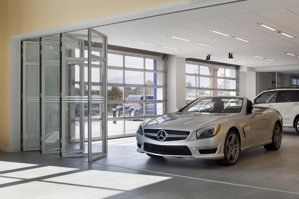 Nanawall for Mercedes benz in ontario ca
