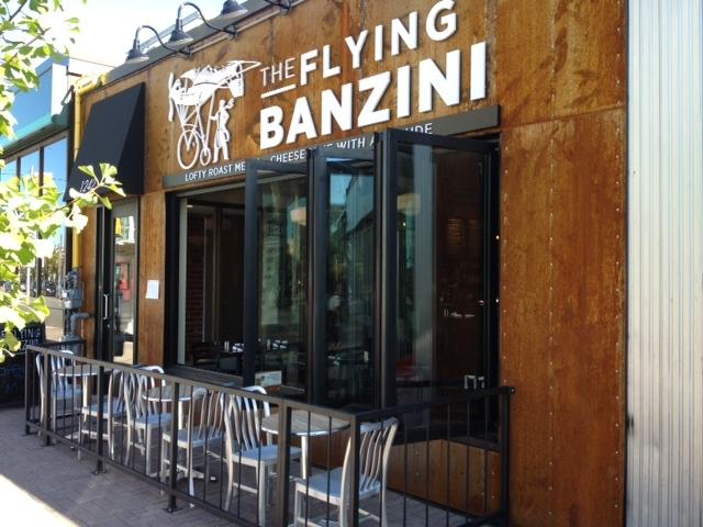Flying Banzini- halfway