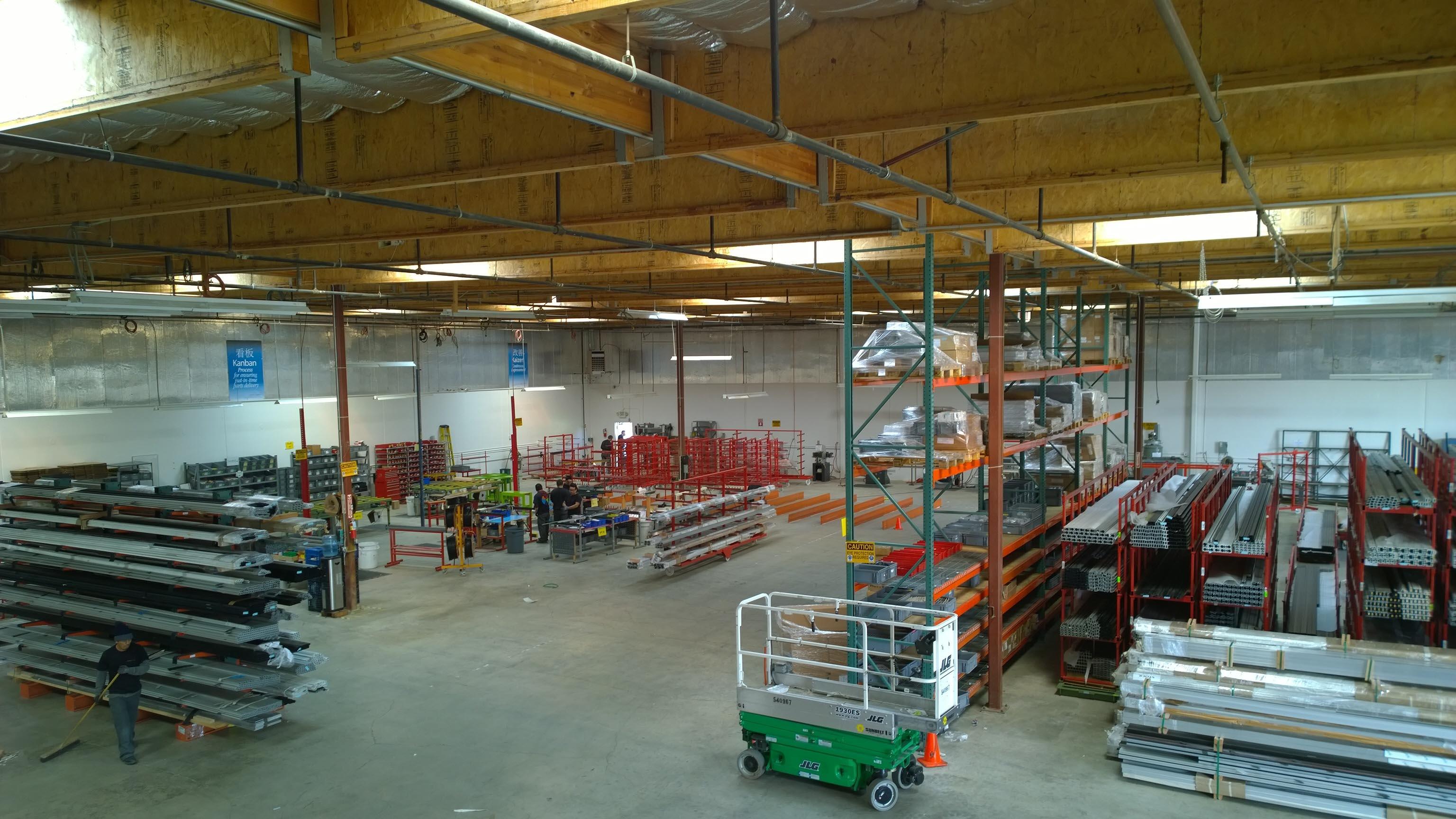 new factory - work flow