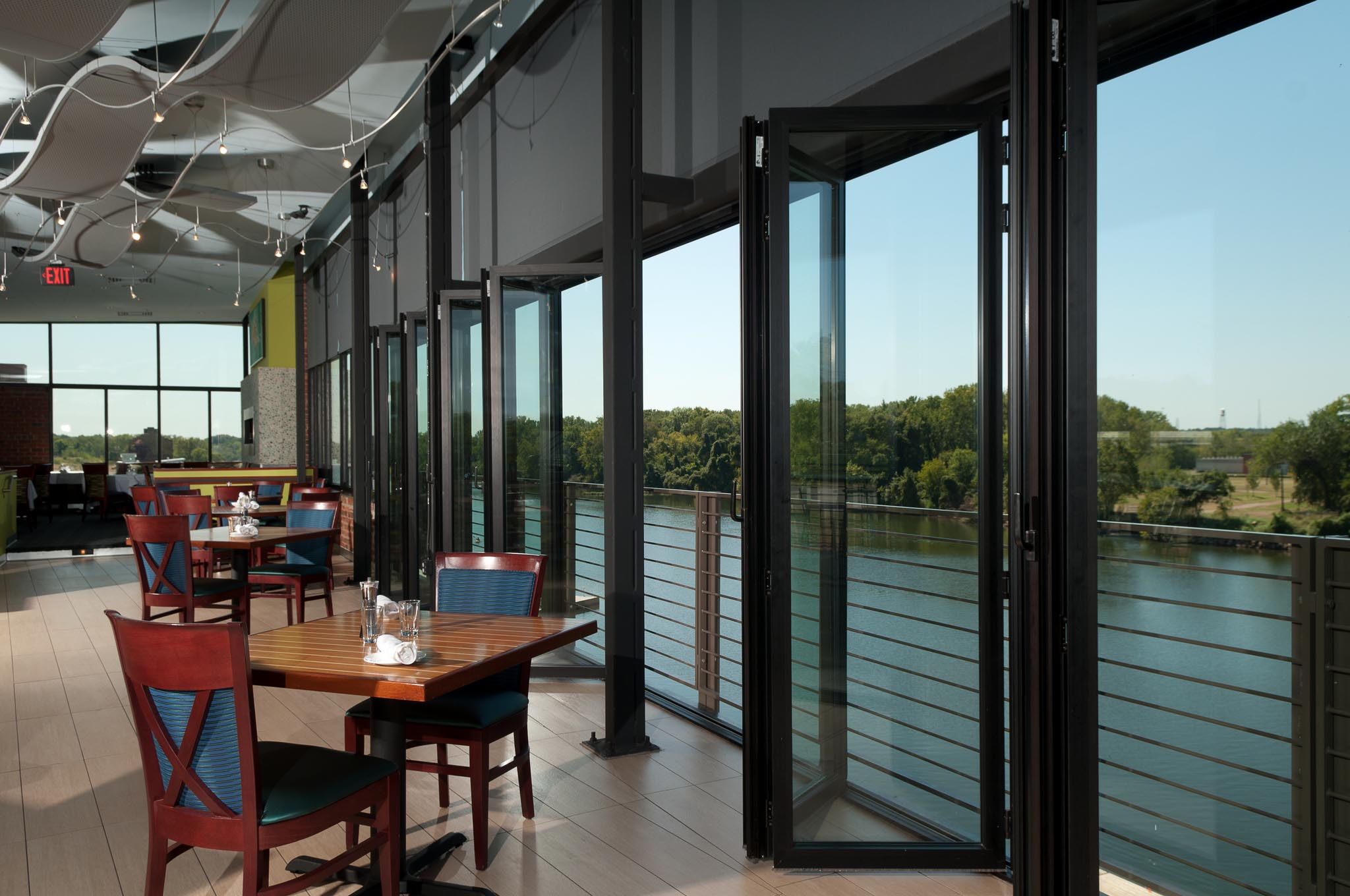 Boathouse Restaurant All Gallery Nanawall Operable