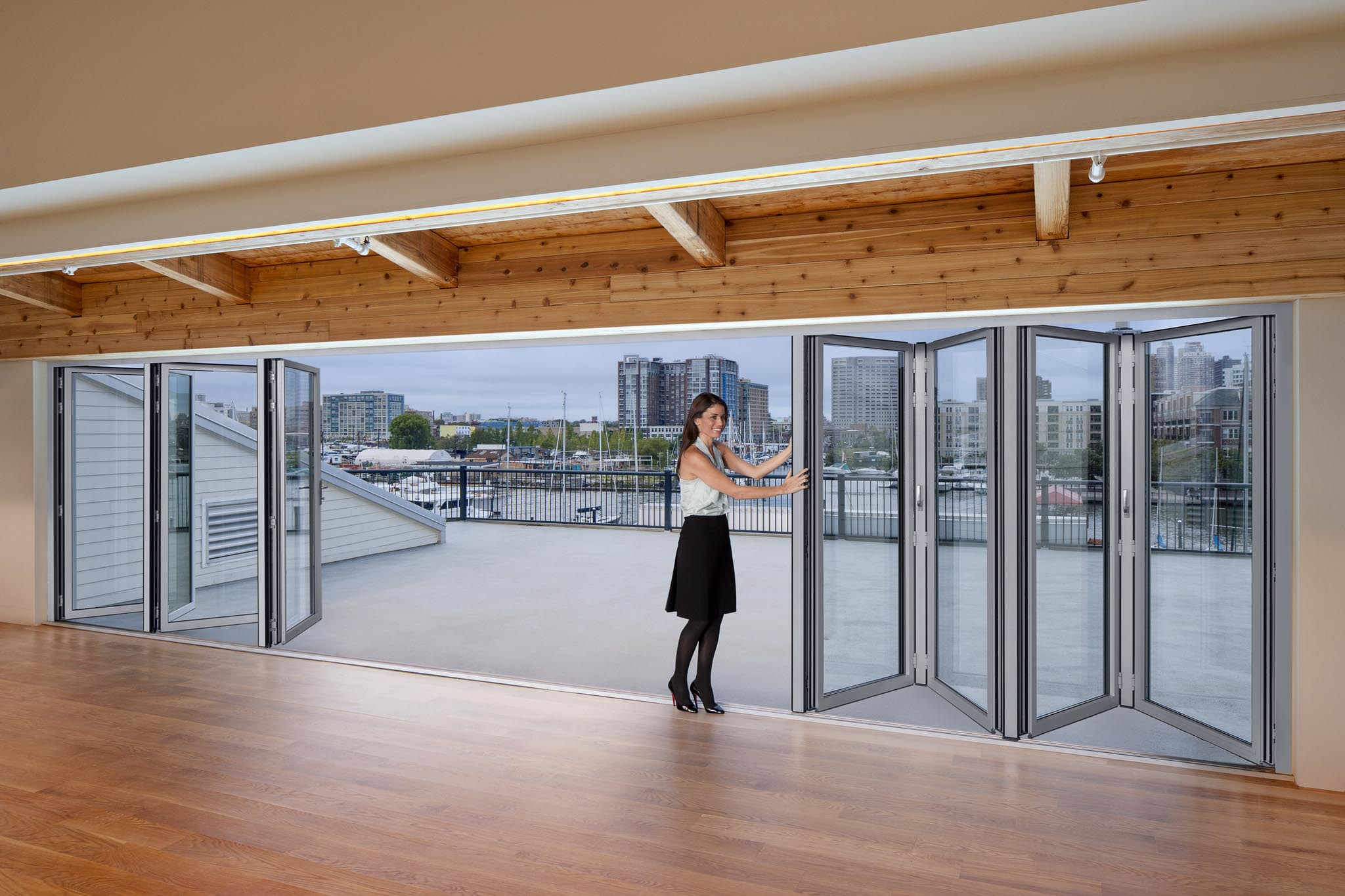 Maritime Parc Sl70 Gallery Nanawall Operable Glass