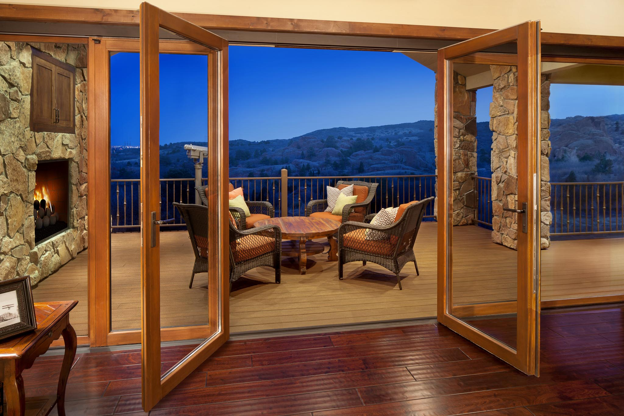 Manitou Springs Residence Gallery Nanawall Operable