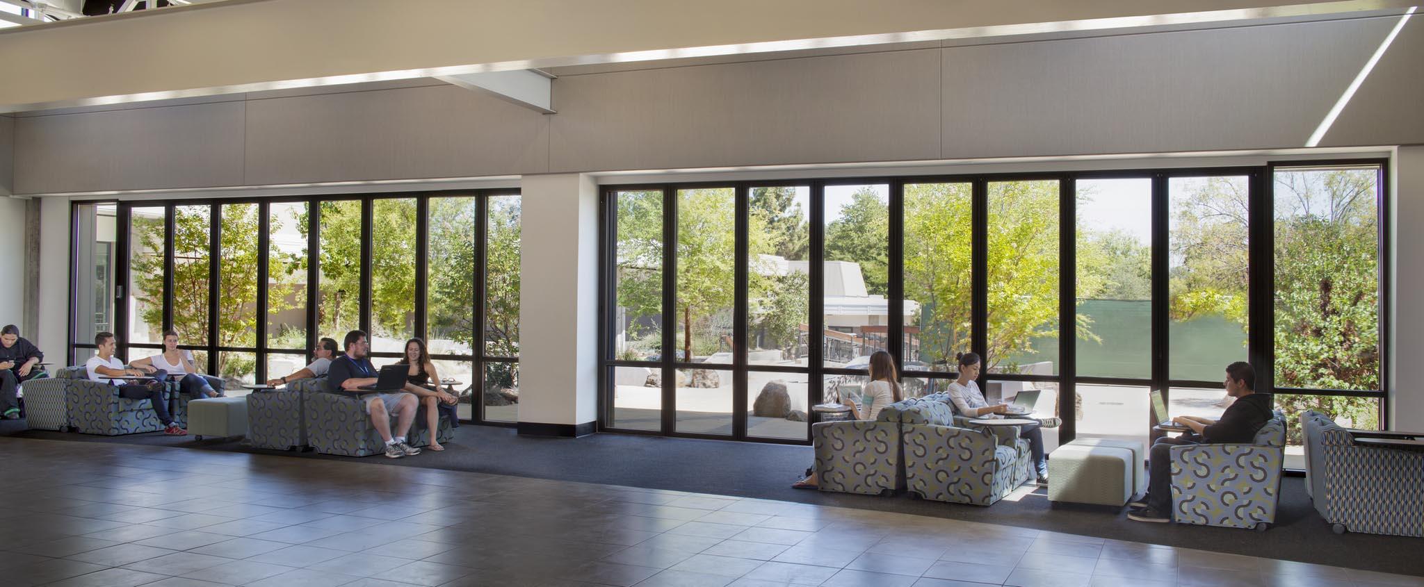 West Valley College Interior Design West Valley College  Nanawall