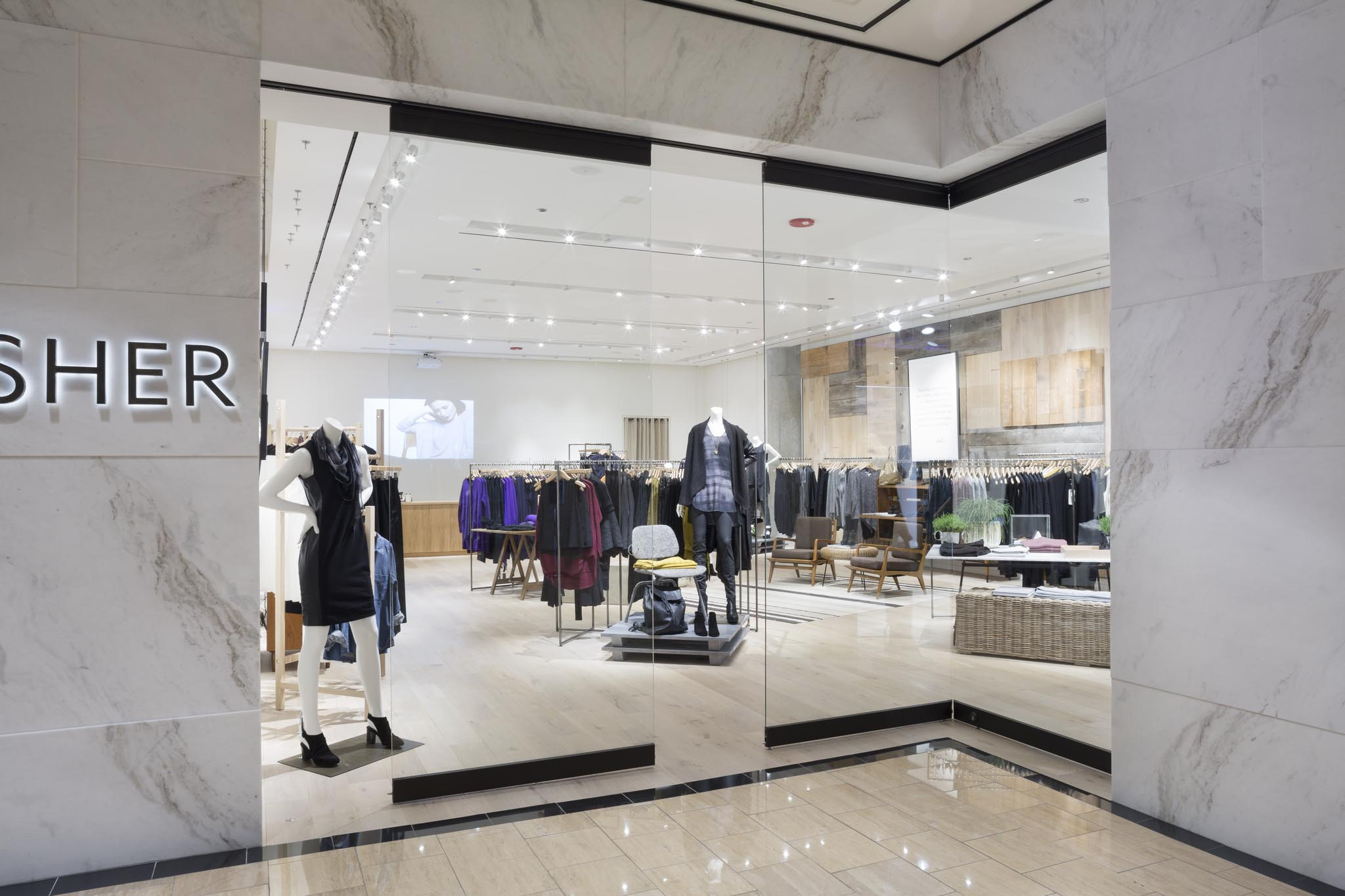 eileen fisher case study Well-established fashion brand eileen fisher has traditionally appealed to older  women however, to drive growth, eileen fisher's management team wants to.