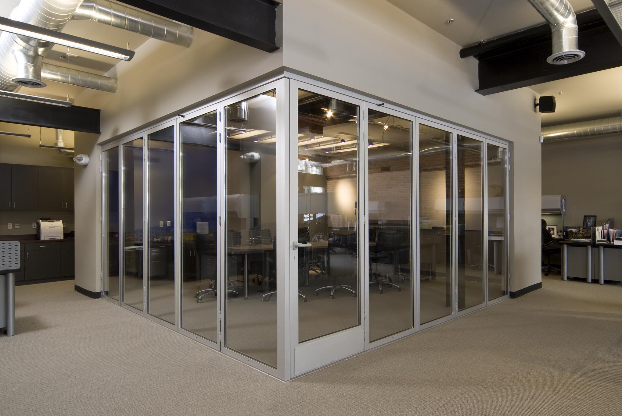 NanaWall SL45 Office & Clear Blue Office - All - Gallery | NanaWall - Operable Glass Wall ... Pezcame.Com