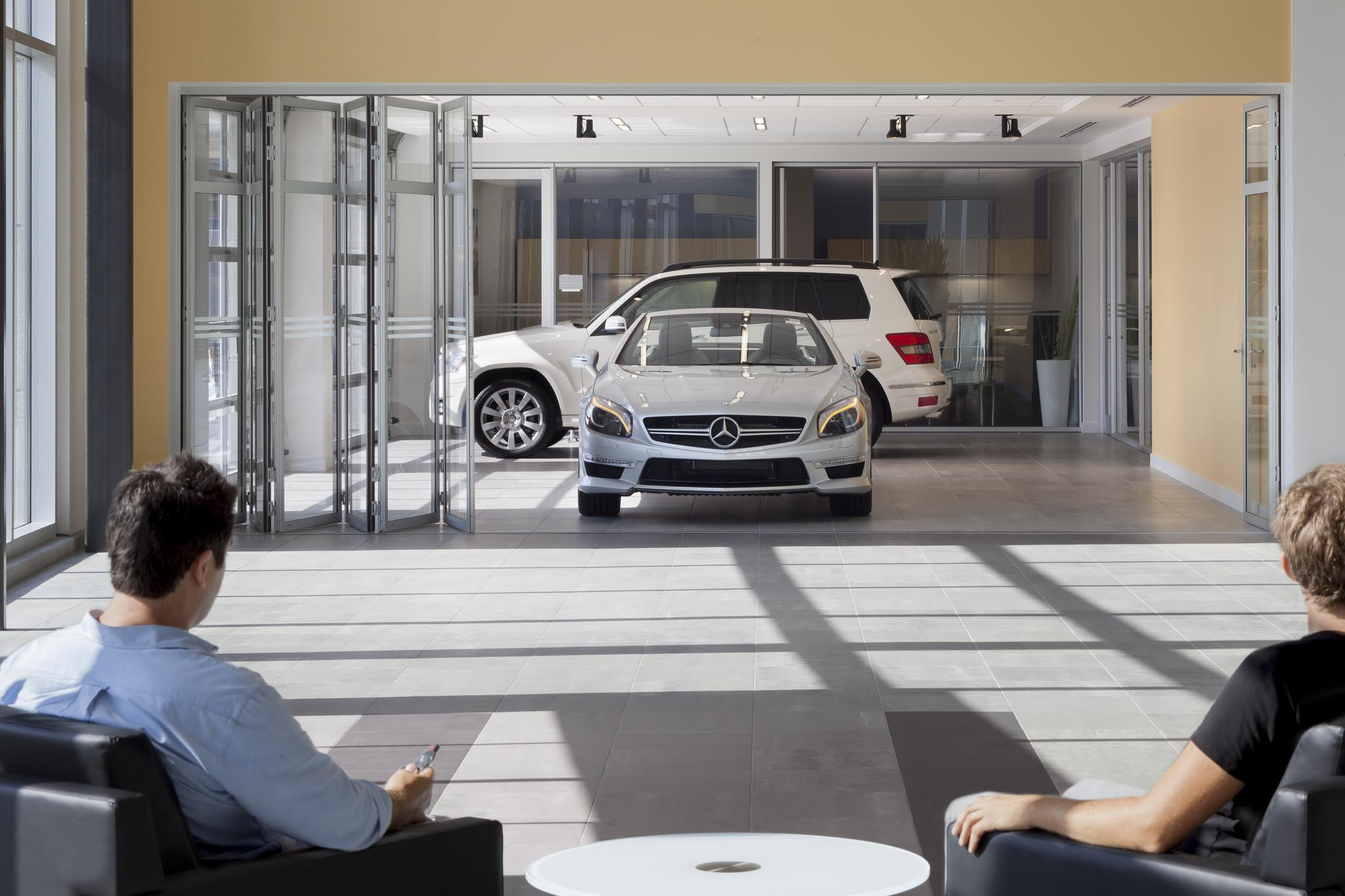 mercedes benz of ontario gallery nanawall operable glass wall. Cars Review. Best American Auto & Cars Review