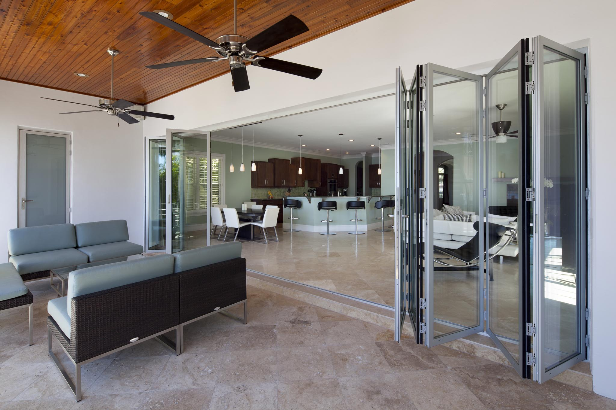 Tampa Residence Gallery Nanawall Operable Glass Wall