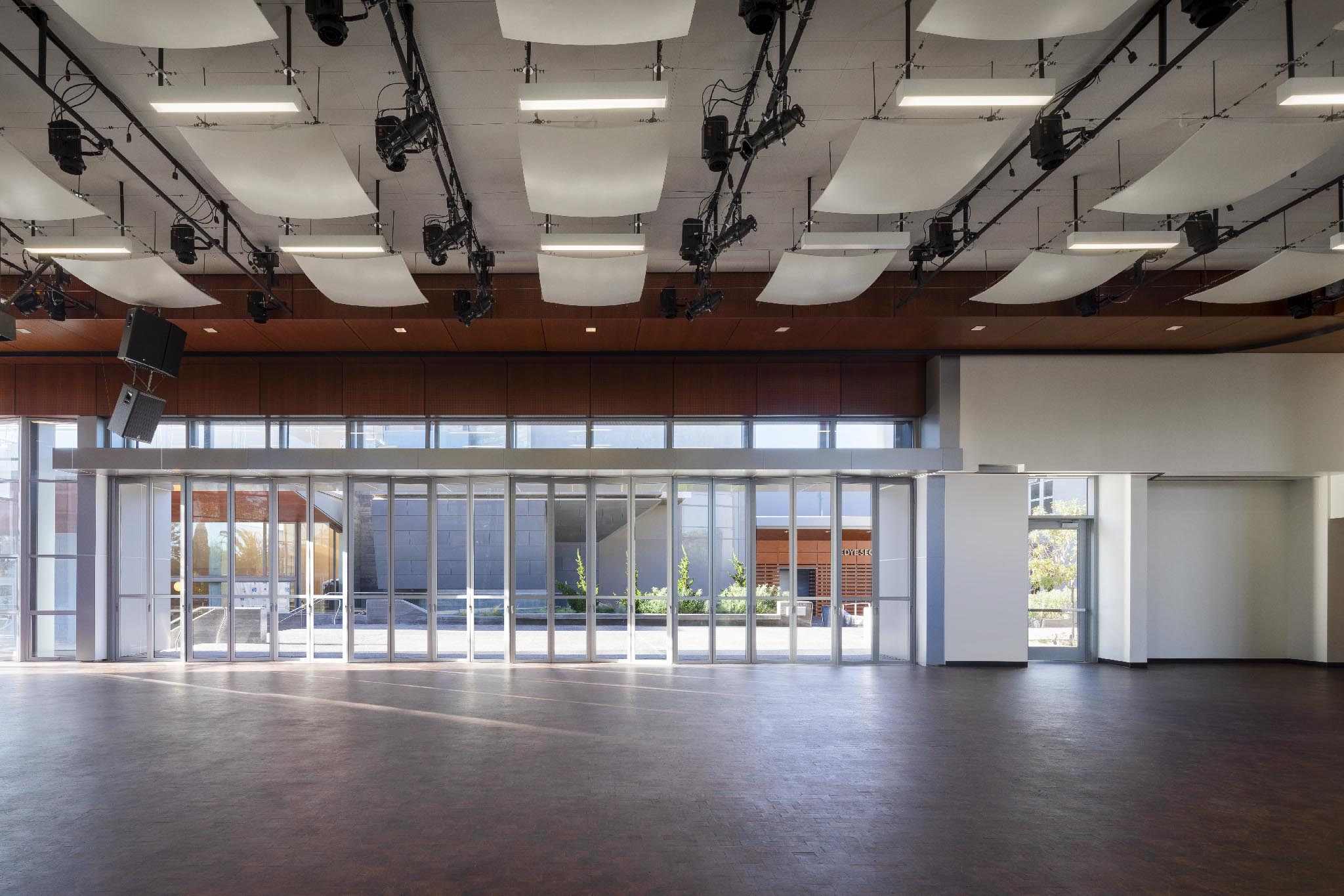 Santa Monica College Gallery NanaWall Operable Glass Wall Systems