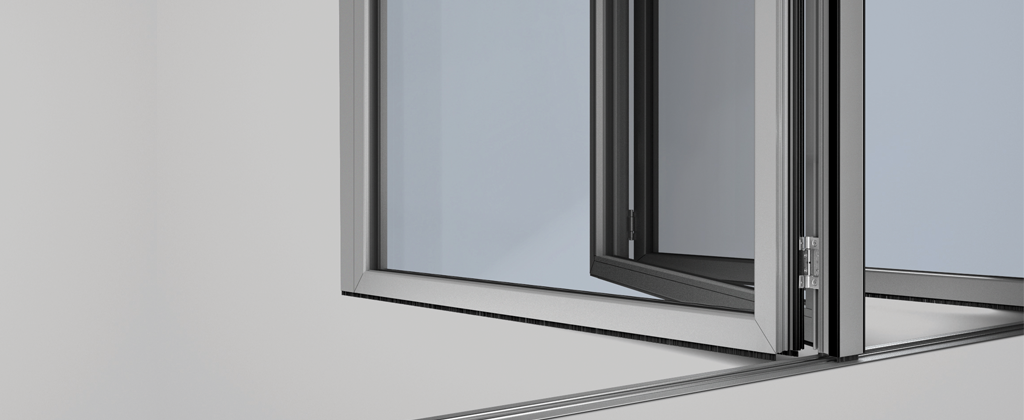 SL70-Folding Glass Walls-Running post of additional strength