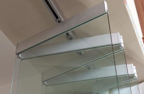 Frameless glass walls nanawall for Retractable glass wall system