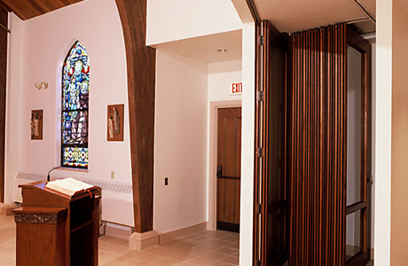 St kathryn 39 s church nanawall for Cost of nanawall systems
